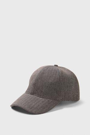 Zara Miehet Lakit - Herringbone textured cap