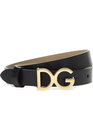 Dolce & Gabbana Logo leather belt