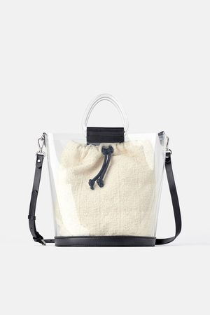 Zara Vinyl tote bag