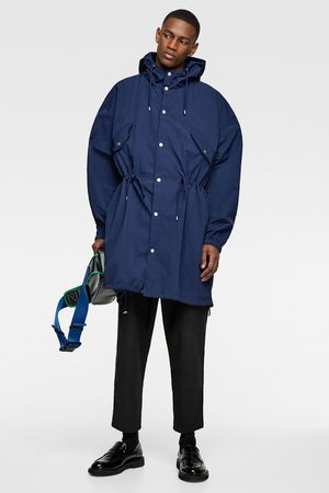 Zara Lightweight hooded parka