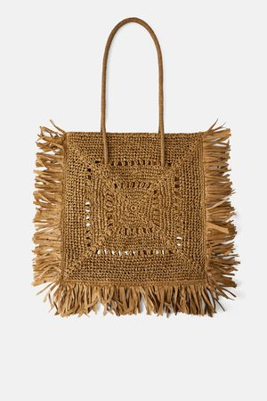 Zara Natural xxl tote bag