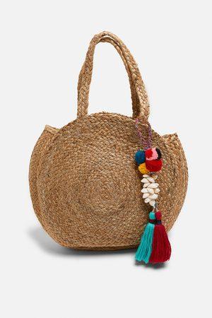 Zara Round jute bag