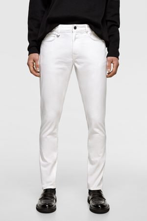 Zara Miehet Kapeat Housut - Coloured slim fit trousers