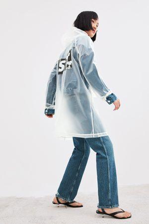 Zara Snoopy peanuts® transparent raincoat