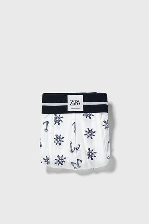 Zara Palm tree print boxers