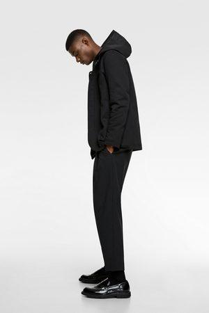 Zara Coat with contrasting hood