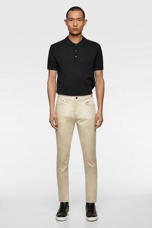 Zara Miehet Kapeat Housut - Coloured skinny trousers