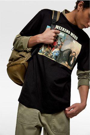 Zara 'weekend mood' meme t-shirt