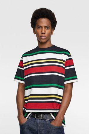 Zara Contrasting stripes top