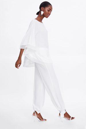 Zara Flowing cape-style blouse