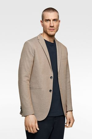 Zara Two-tone structured blazer