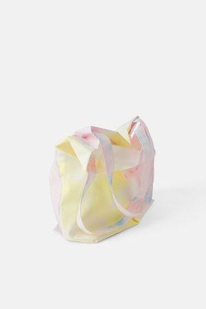 Zara Recycled tie-dye tote bag