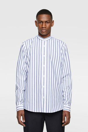 Zara Striped oxford shirt