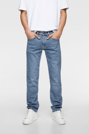 Zara Basic straight slim fit jeans