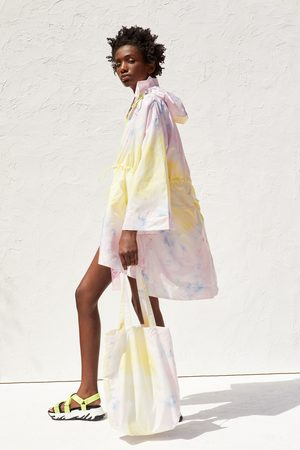 Zara Recycled capsule collection packable raincoat