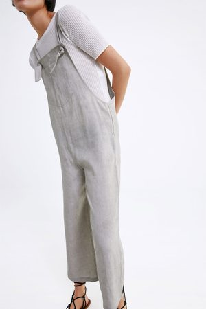 Zara Wide-leg jumpsuit with pocket