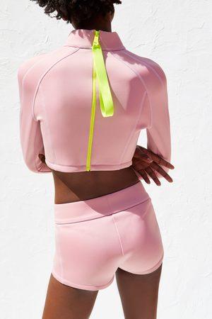 Zara Naiset Bermuda-shortsit - Recycled capsule collection shorts