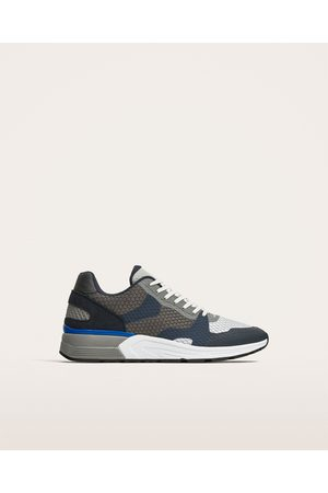 Zara CONTRASTING ULTRALIGHT SNEAKERS