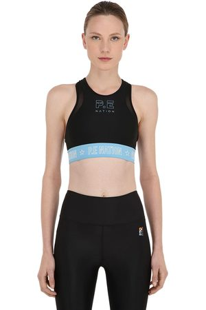 P.E Nation Figure Four Stretch Techno Sports Bra