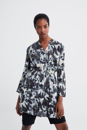Zara Tie-dye print dress