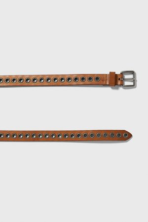 Zara Belt with metal eyelets