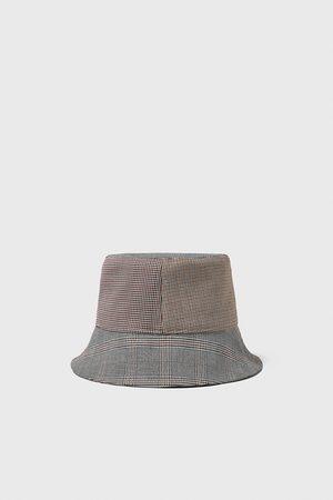 Zara Miehet Hatut - Patchwork rain hat