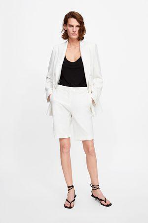 Zara Naiset Bermuda-shortsit - Tailored bermuda shorts