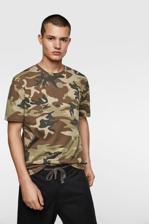 Zara Camouflage print t-shirt