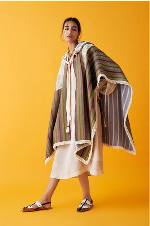 Zara Special edition studio fringed cape