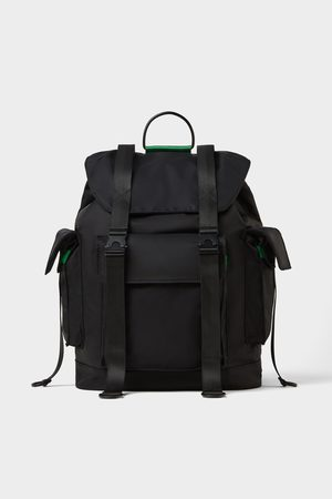 Zara Miehet Reput - Backpack with multiple pockets