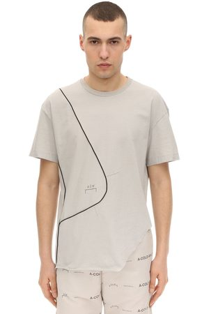 A-cold-wall* Slashed Cotton Jersey T-shirt