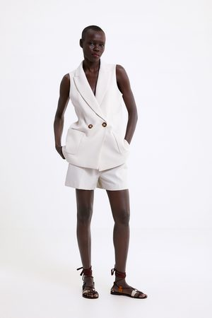 Zara Bermuda shorts with pockets