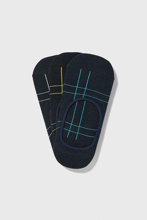 Zara Miehet Sukat - Pack of check no-show socks