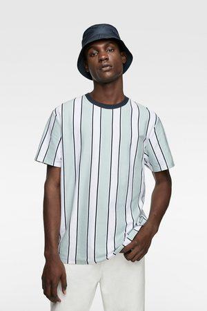 Zara Vertical stripe t-shirt