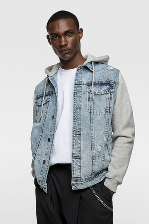 Zara Contrast denim jacket