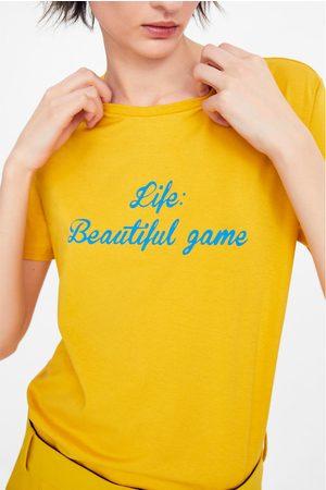 Zara Slogan t-shirt