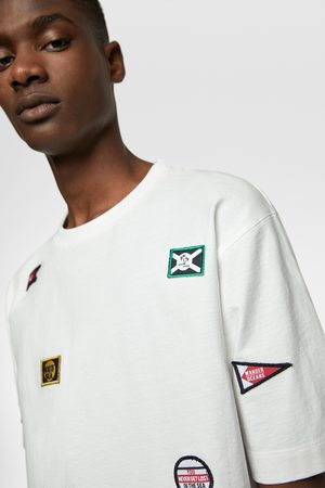 Zara T-shirt with nautical patches
