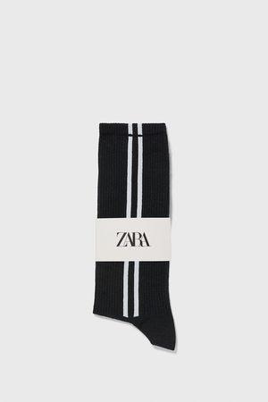 Zara Socks with side stripes