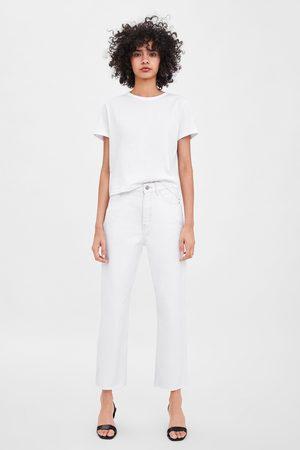 Zara Edited hi-rise straight-leg jeans