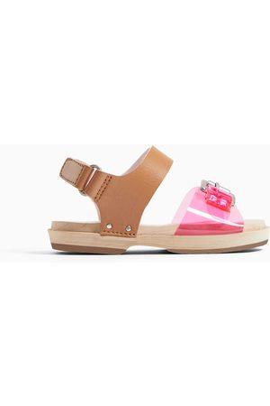 Zara Vinyl clog sandals