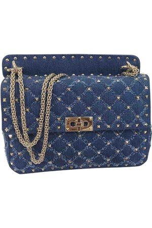 Valentino Rockstud spike Denim - Jeans Handbags
