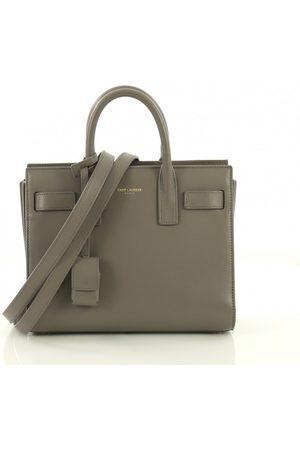 Saint Laurent Sac de Jour Leather Handbags