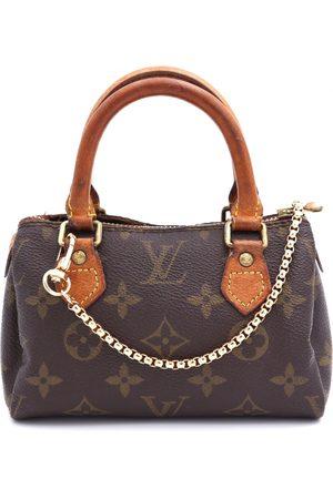 LOUIS VUITTON Nano Speedy / Mini HL Cloth Handbags