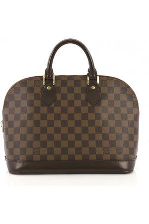 LOUIS VUITTON Alma Cloth Handbags