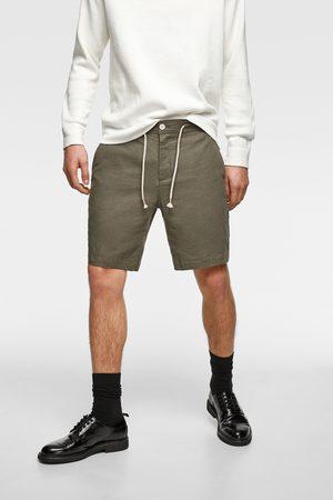 Zara Rustic bermuda shorts