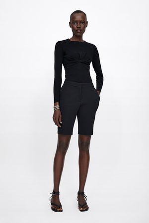 Zara Tailored bermuda shorts