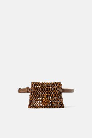 Zara Naiset Laukut - Wooden bead belt bag