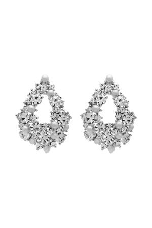 LILY AND ROSE Naiset Korvakorut - Alice Pearl Earrings Dove Grey One size