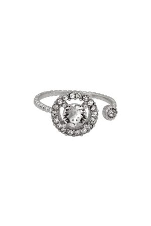 LILY AND ROSE Miranda Ring Crystal One size