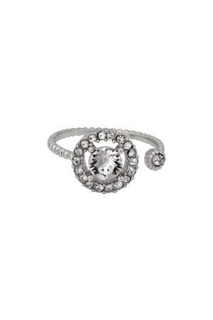 LILY AND ROSE Naiset Sormukset - Miranda Ring Crystal One size